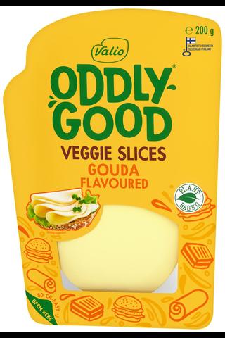 Valio Oddlygood Veggie e200 g slices gouda...