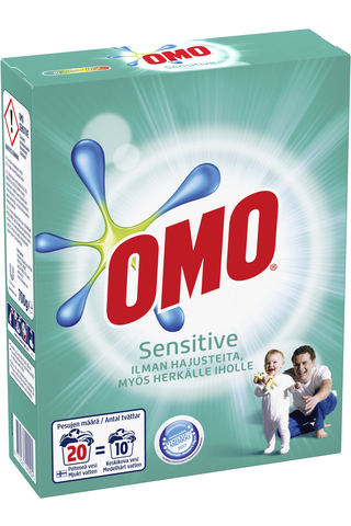 Omo Pyykinpesujauhe Sensitive 700 g