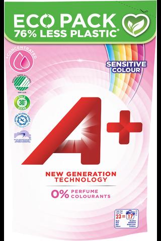 A+ 920ml Sensitive Color täyttöpakkaus...