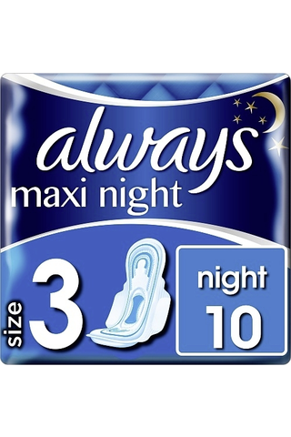 Always 10kpl Maxi Night 3 with wings terveysside
