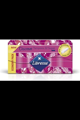 Libresse Discreet Super tamponi 32kpl