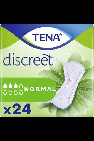 Tena Lady Discreet Normal inkontinenssisuoja 24kpl