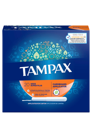 Tampax tamponi Super Plus 20kpl