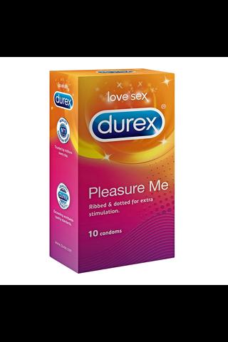 Durex 10kpl Pleasure Me kondomi