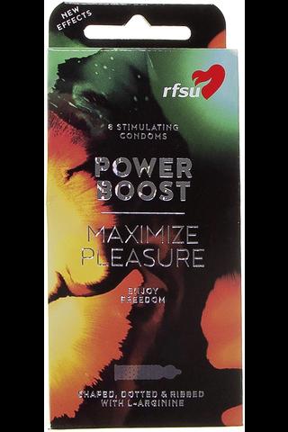 RFSU Power Boost kondomi 8kpl