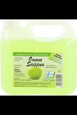 Foxtel 3l nestesaippua omena