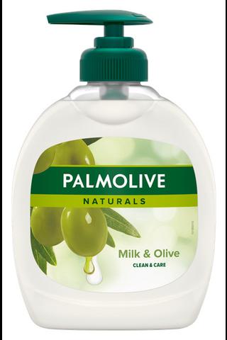 Palmolive Naturals Milk & Olive nestesaippua...