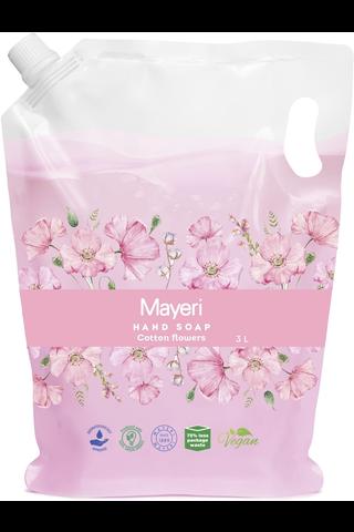 Mayeri 3l Cotton Flowers nestesaippua