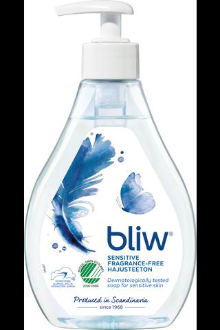 Bliw Sensitive pumppupullo nestesaippua 300ml