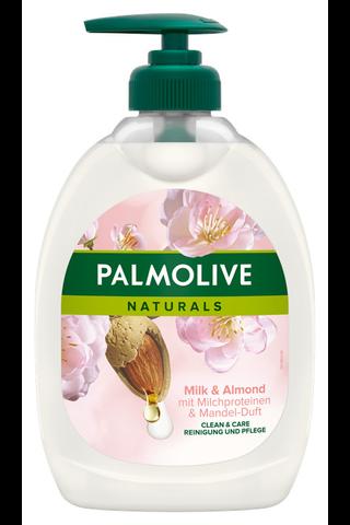 Palmolive Naturals Milk & Almond nestesaippua...