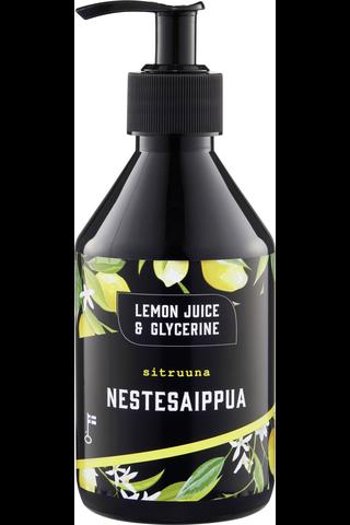 Lemon Juice & Glycerine 275ml Sitruuna...