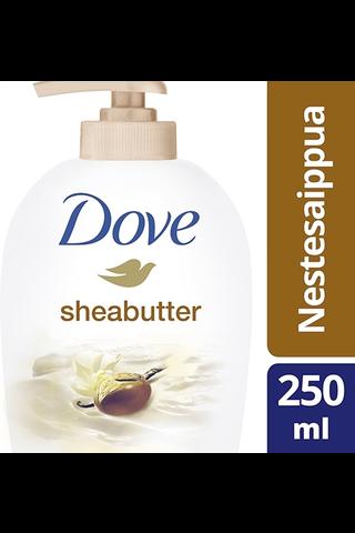 Dove Nestesaippua Shea Butter 250ml