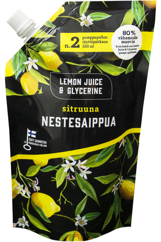 Lemon Juice & Glycerine Nestesaippua...