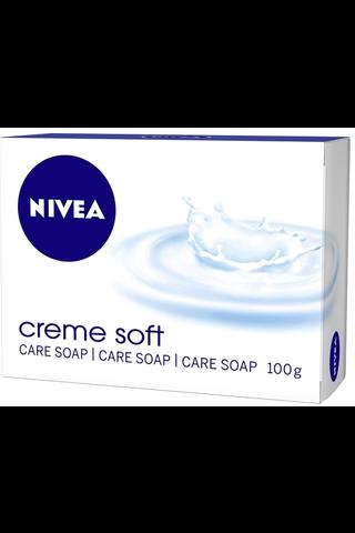 NIVEA 3x100g Creme Soft palasaippua