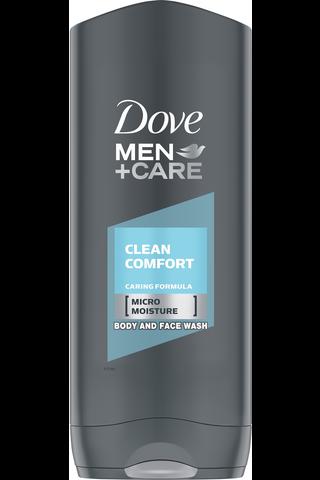 Dove Men+Care 400ml Suihkusaippua Clean Comfort