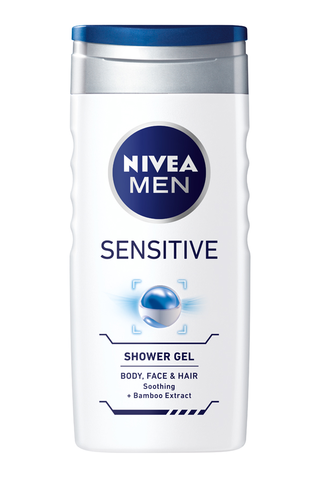 NIVEA MEN 250ml Sensitive Shower Gel –...