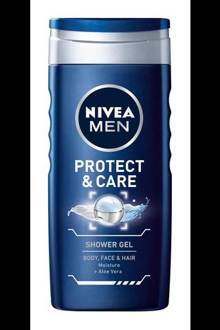 NIVEA MEN 250ml Protect & Care Shower...