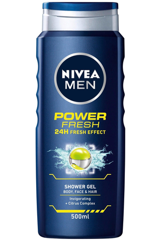NIVEA MEN 500ml Power Refresh Shower Gel...