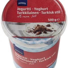 Rainbow jogurtti Turkkilainen 10% rasvaa...