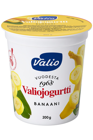 Valiojogurtti 200 g banaani HYLA