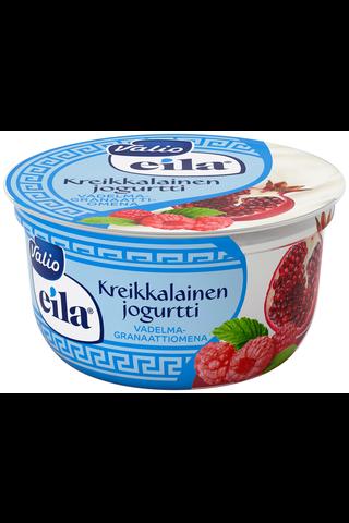 Valio kreikkalainen jogurtti 150 g vadelma-granaattiomena laktoositon