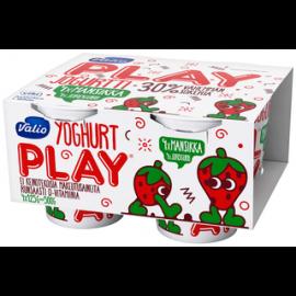 Valio Play jogurtti 4×125 g mansikka...