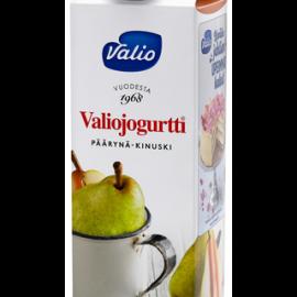 Valiojogurtti 1 kg päärynä-kinuski HYLA