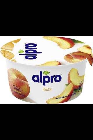 Alpro hapatettu soijavalmiste, persikka 150g