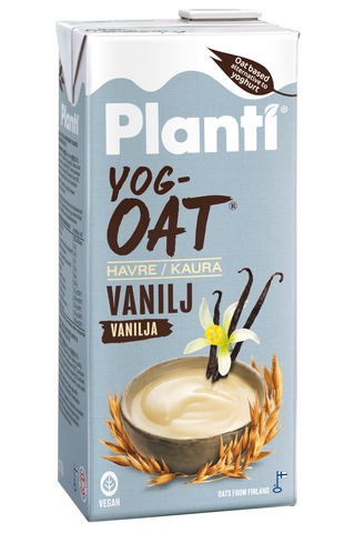 Planti YogOat vanilja, kauratuote hapatettu...