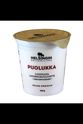 Helsingin Meijeriliike 180g lohkeava luonnonjogurtti...