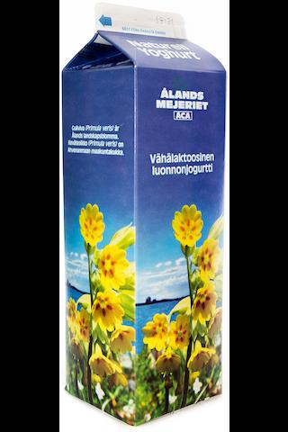 Ålandsmejeriet 1kg luonnonjogurtti vähälaktoosinen
