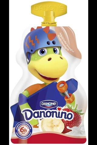 Danone Danonino GO! mansikka-banaanijogurtti...