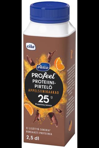 Valio PROfeel proteiinipirtelö 2,5 dl appelsiinikaakao...