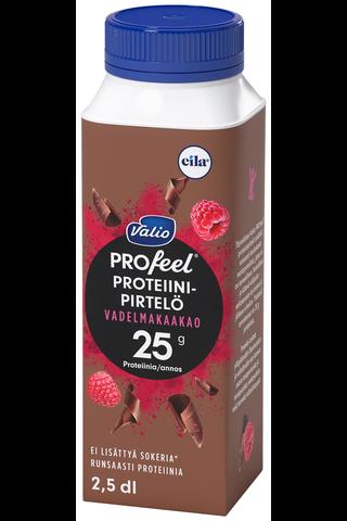Valio PROfeel proteiinipirtelö 2,5 dl vadelmakaakao...