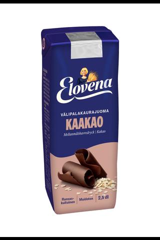 Elovena 2,5dl samettinen suklaa välipalajuoma