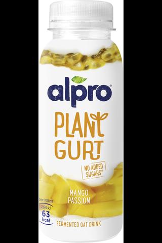 Alpro Plantgurt kaurapohjainen juoma mango-passionhedelmä,...