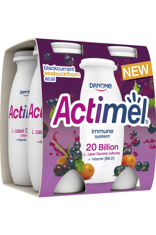 Danone Actimel mustaherukka-tyrni-acai jogurttijuoma...