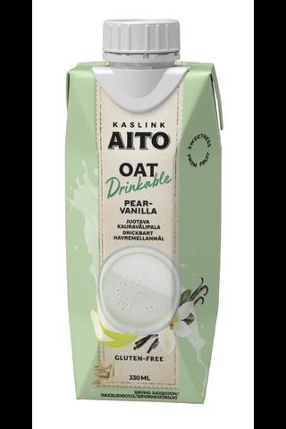 Kaslink Aito gluteeniton juotava päärynä-vanilja...