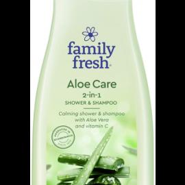 Family Fresh Aloe Care 2-in-1 shower &...