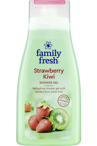 Family Fresh Strawberry Kiwi shower gel suihkugeeli...