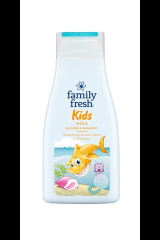 Family Fresh Kids 2-in-1 shower & shampoo...