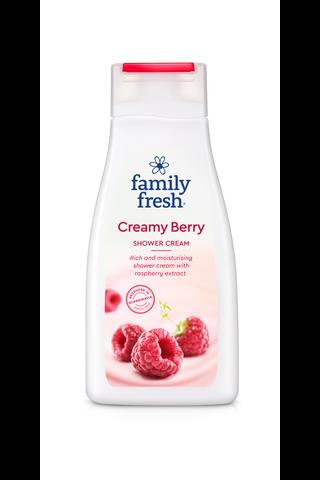 Family Fresh Creamy Berry shower cream suihkusaippua...