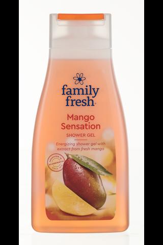 Family Fresh Mango Sensation shower gel suihkugeeli...