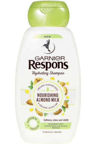 Garnier Respons Nourishing Almond Milk shampoo...