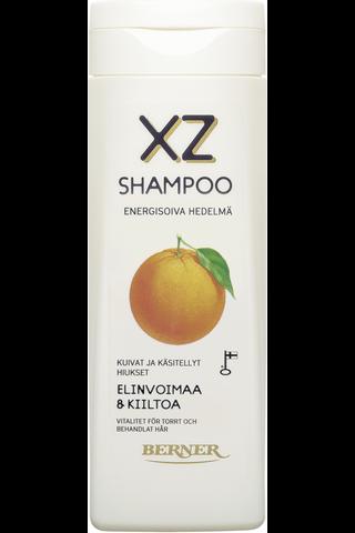 XZ 250ml Energisoiva hedelmä shampoo, käsitellyt...