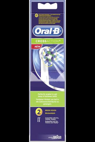 Oral-B 2kpl CrossAction vaihtoharja