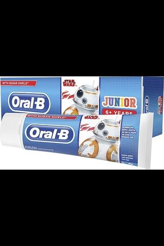 Oral-B 75ml Junior Star Wars lasten hammastahna