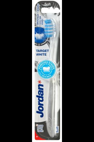 Jordan Target White valkaiseva hammasharja...