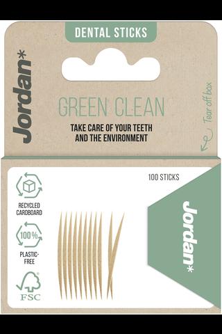 Jordan Green Clean Toothpicks puiset hammastikut...