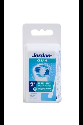 Jordan Clean Brush heads vaihtoharja sähköhammasharjaan...